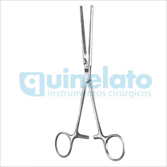 Pinça Doyen Intestinal com atrauma curva 18cm